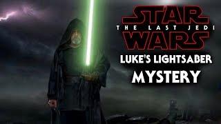 Luke's Green Lightsaber Mystery! - Star Wars The Last Jedi