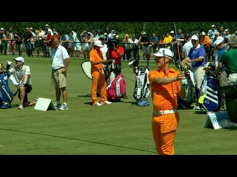Who Looks Better In Orange? Rickie Fowler, Jonas Blixt match outfits