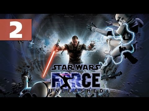 Star Wars: The Force Unleashed - Let's Play - Part 2 - [Tie Fighter Factory 1/2] -
