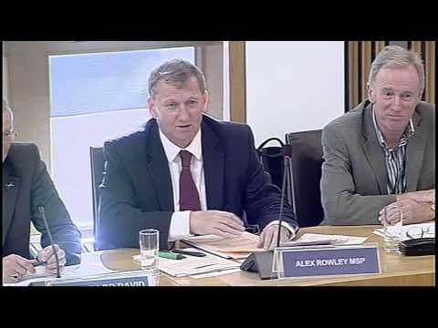 Local Government and Regeneration Committee (Part I) - Scottish Parliament: 24th September 2014
