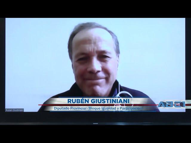 Rubén Giustiniani - Diputado Provincial (Igualdad y Participación) - ABC1 30 05 21