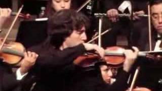Dmitri Berlinsky - Tchaikovsky Violin Concerto -1st Mvt. excerpt