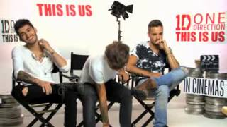 This Is Us Interview: Louis Tomlinson, Zayn Malik and Liam Payne from One Direction