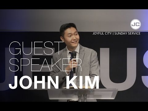 "Speaker: John Kim (""The Gospel"")"