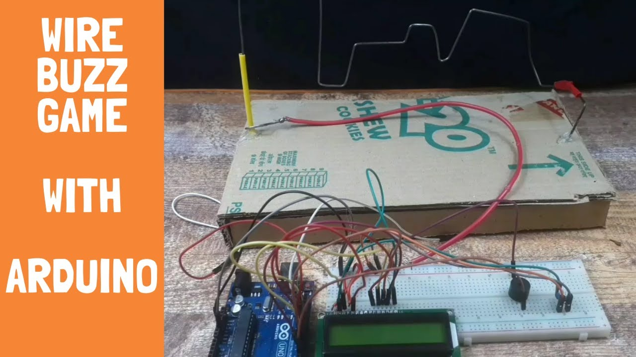 How to make Wire Buzz Game with Arduino | Arduino Project