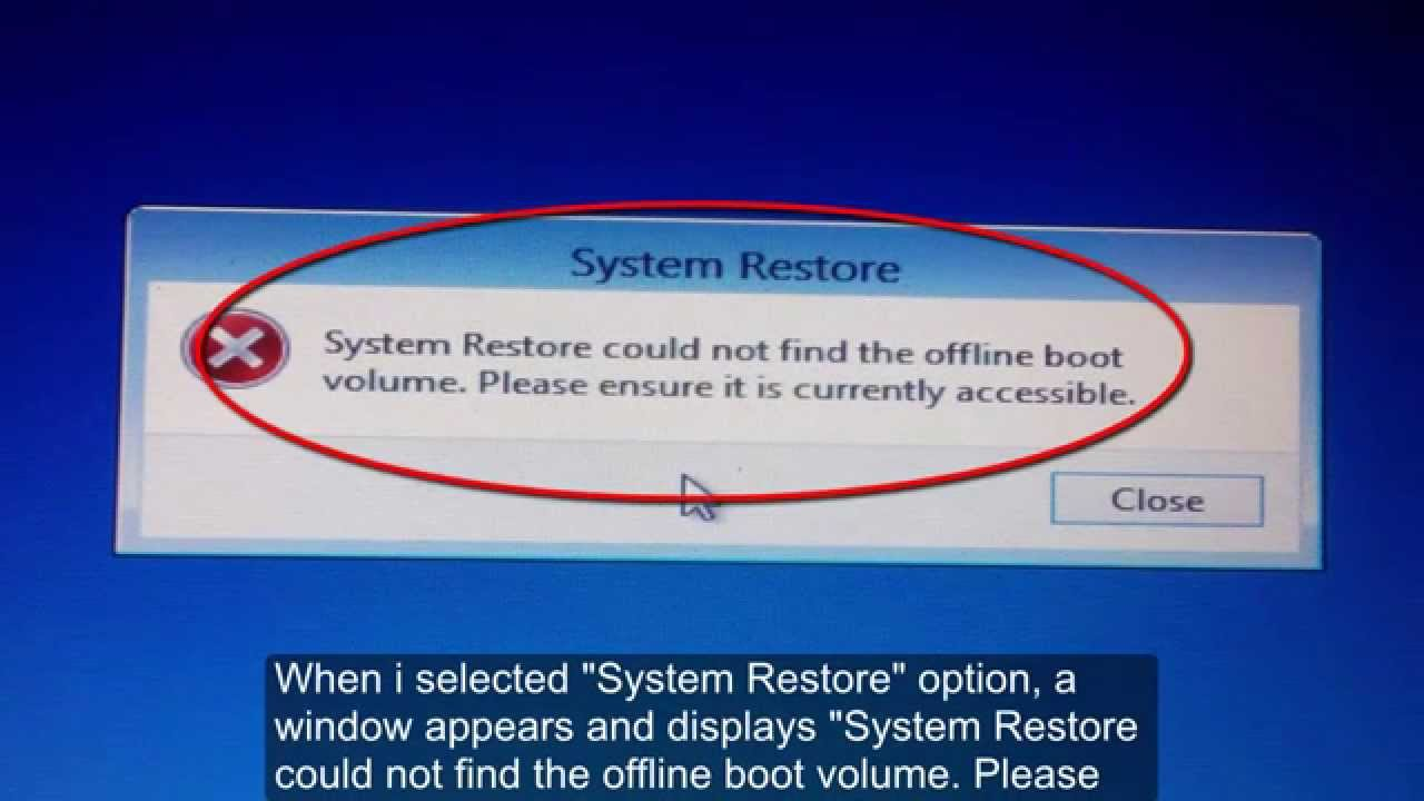 how to get to system restore windows 8 from boot