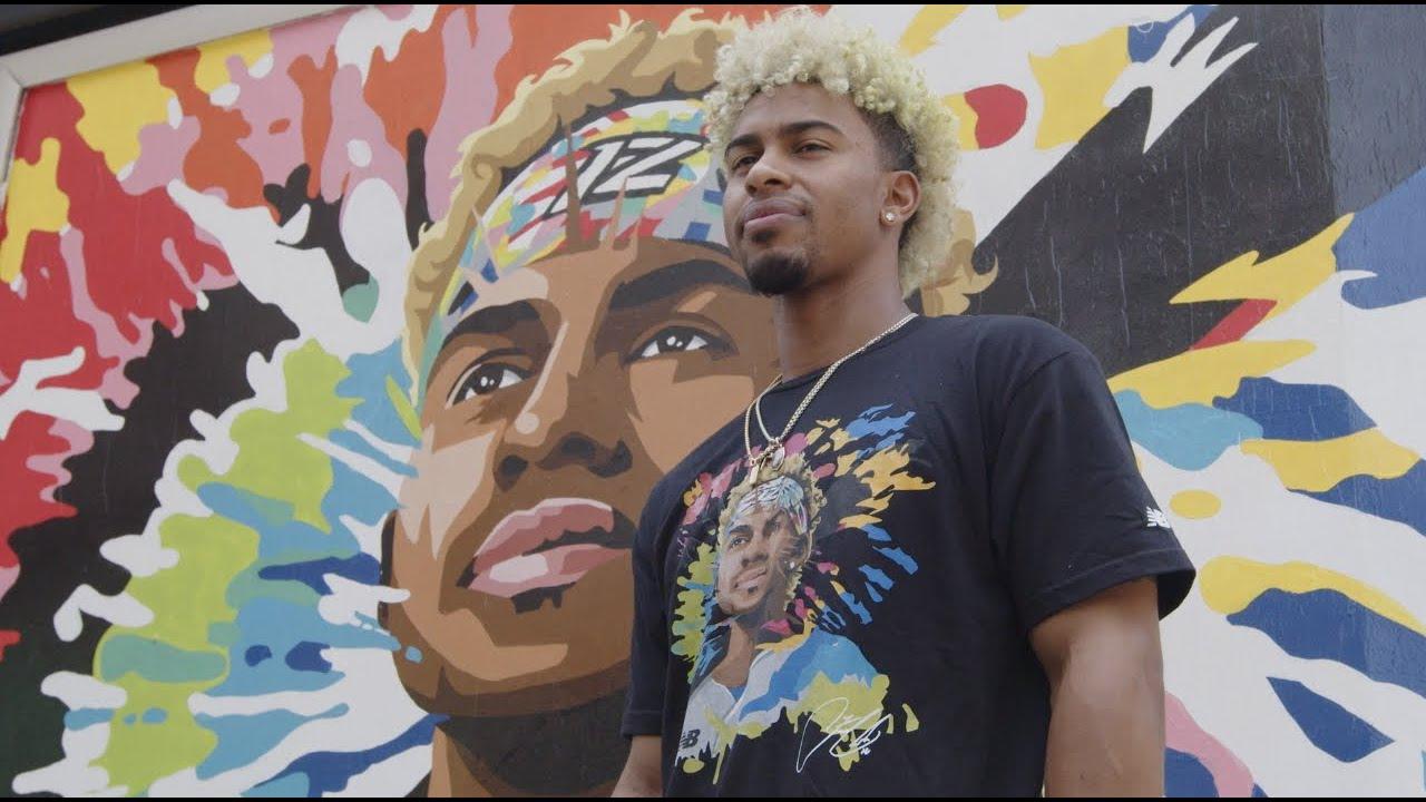 Francisco Lindor Mural in NYC by Cleveland Artist Glen Infante | New Balance Baseball