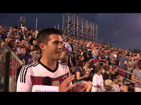 Indy Eleven fan Matt tells Yahoo! Sports Radio Indiana what his team means to him.