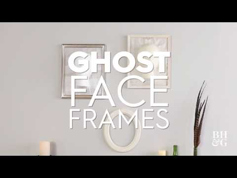 Ghost Face Frame | Made By Me - Crafts | Better Homes & Gardens