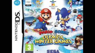 Mario and Sonic at the Olympic Winter Games DS: Dream Figure Skating: Sonic Medley