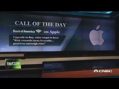 Bank of America: Buy Apple