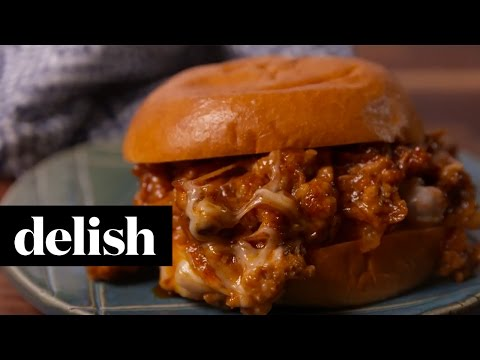 Get Cheesy Chicken Sloppy Joes   Delish Screenshots