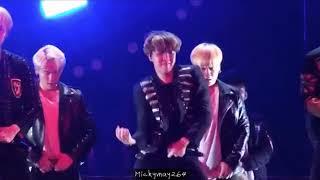 Bts concert nanjing (jhope focus)no more dream break dance
