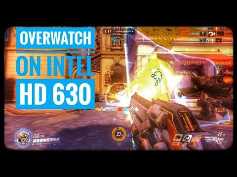 Overwatch on Intel HD Graphics 630/ UHD 620