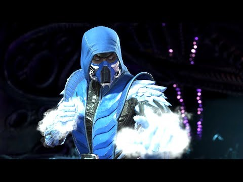 INJUSTICE 2: All SUB-ZERO Intros (Dialogue & Character Banter) 1080p HD