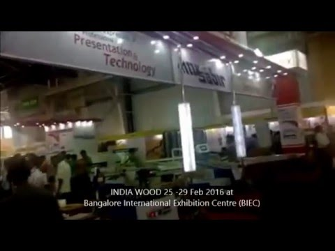 INDIA WOOD 25  29 Feb 2016 at Bangalore International Exhibition Centre BIEC