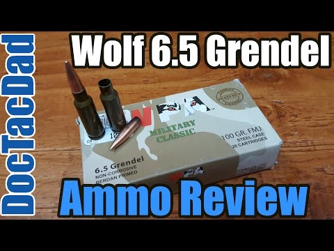 Wolf 6.5 Grendel Steel Case - Ammo Breakdown - Review