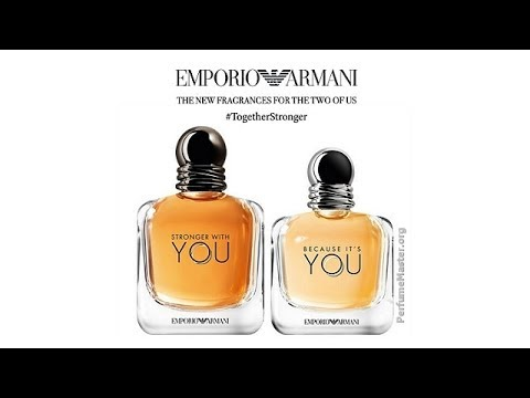 8eed364812 Emporio Armani Because Its You Stronger With You Collection - YouTube
