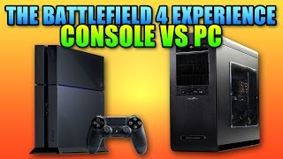 Battlefield 4 Console Vs PC Experience | BF4 PS4 Gameplay