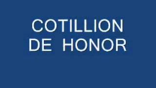 Cotillion De Honor