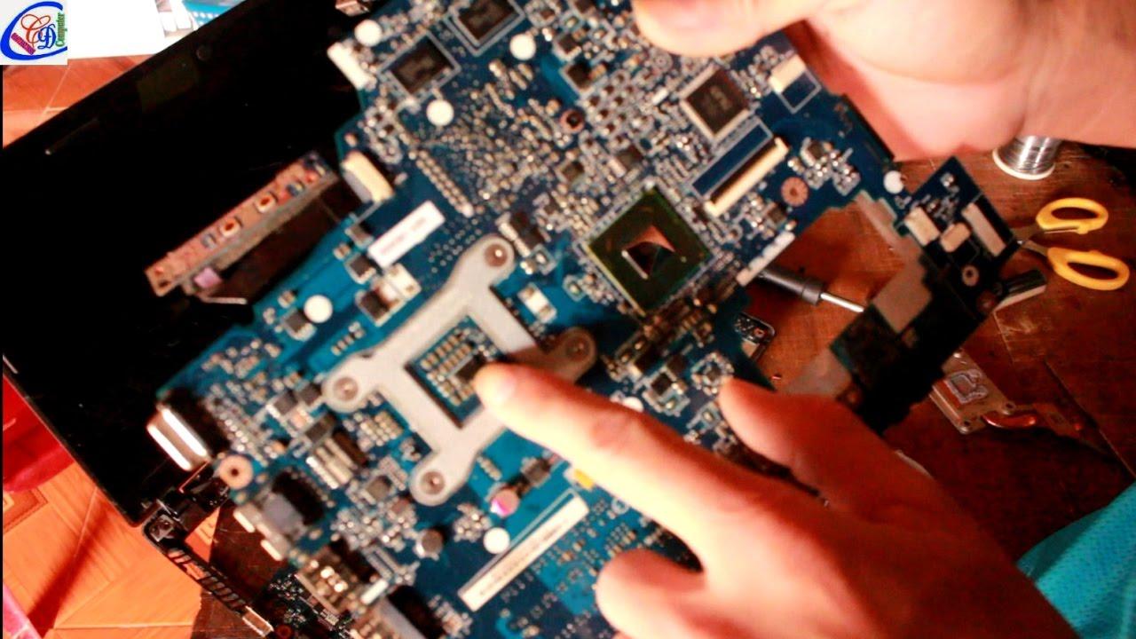 Lenovo G470 lỗi bật nguồn không lên thay main