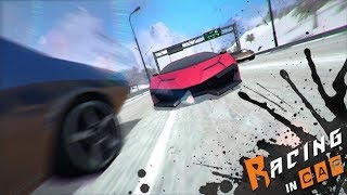 Racing in car - Android trend game