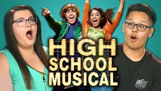 college kids react to high school musical 10th anniversary