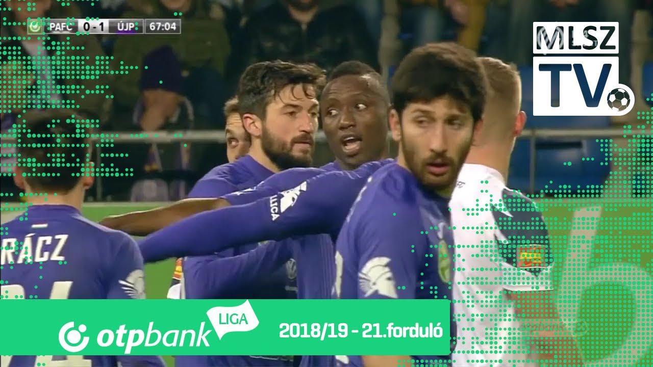 Puskás Akadémia FC – Újpest FC | 0-1 | (0-0) | OTP Bank Liga | 21. forduló | MLSZTV