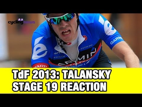 Tour de France 2013: Andrew Talansky reacts to stage 19