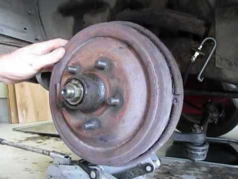 How To Properly Adjust MoPar Front Wheel Bearings 1966 Dodge Coronet