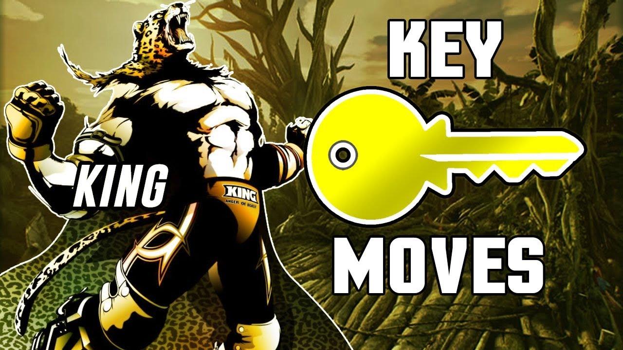 Tekken 7 King Key Moves Youtube