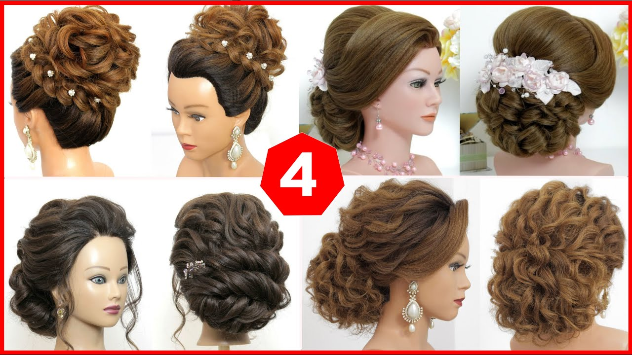4 Latest Girls Hairstyles For Wedding Party Long Hair Styles 2020 Youtube