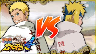 [PC] NARUTO SHIPPUDEN: Ultimate Ninja STORM 4 | 7th Hokage Naruto VS Hokage Minato