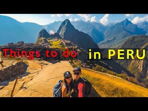 Peru Travel Guide [MACHU PICCHU INCA TRAIL]