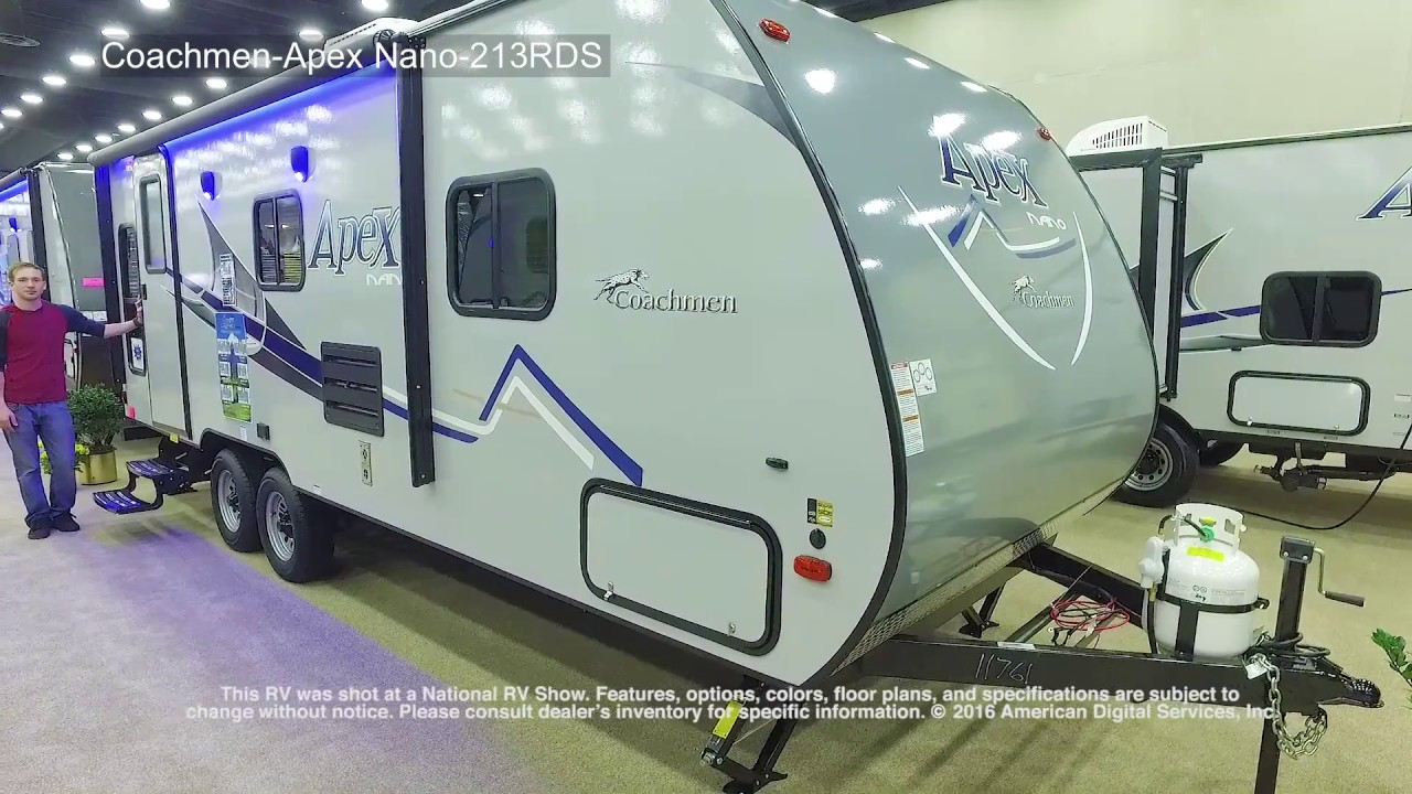 Coachmen Apex Nano 213rds Youtube