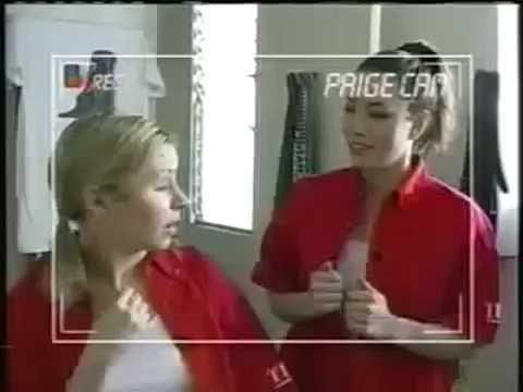 Trading Spaces 2003 - 7th heaven cast (Jessica Biel, Beverley Mitchell, Geoff & George Stults)