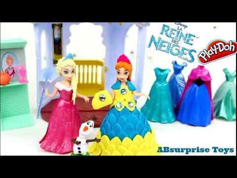 Robe Reine des neiges en pate a modeler playdoh princess anna | playdoh dress frozen elsa anna ...