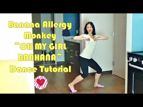 Banana Allergy Monkey (OH MY GIRL BANHANA) Mirrored Dance Tutorial