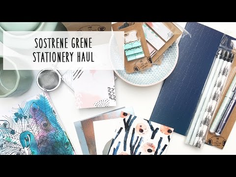 Sostrene Grene Stationery Haul *German*