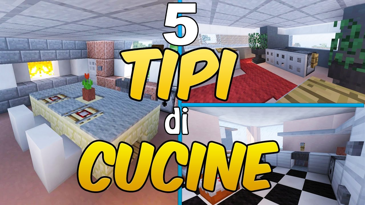 Come arredare una casa in minecraft la cucina youtube for Come arredare la casa