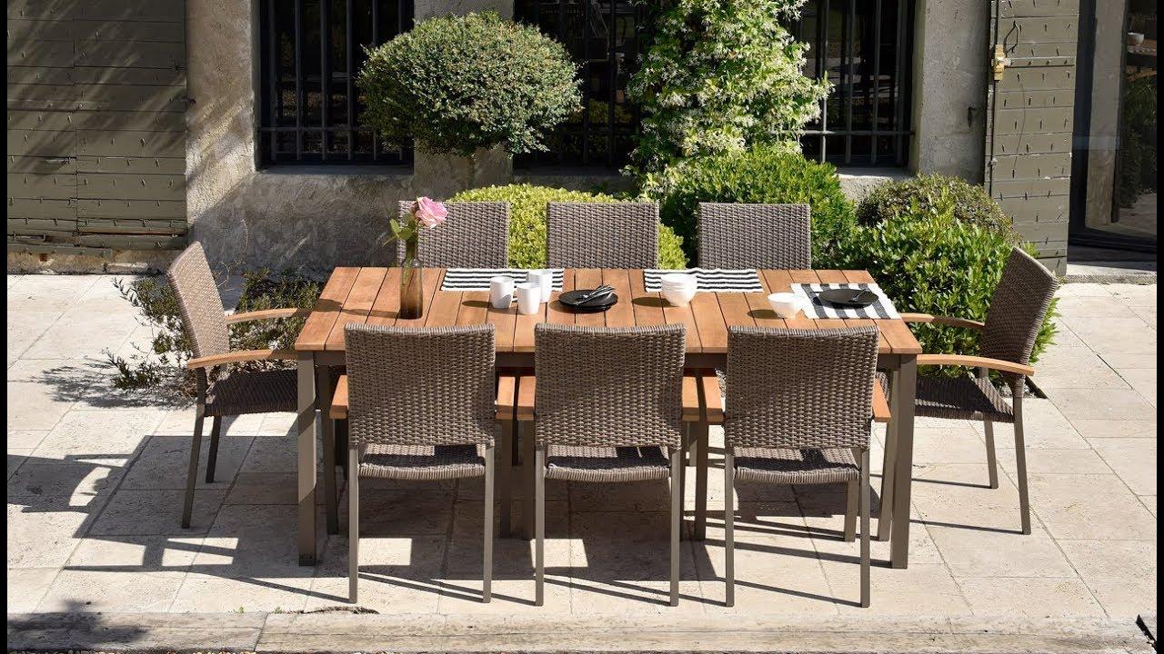 OOGarden - Salon de jardin Marbella avec fauteuils Barcelona
