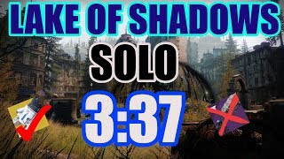 Solo Nightfall Speedrun (3:37) - Abilities ONLY Plus Tractor Cannon - Lake Of shadows