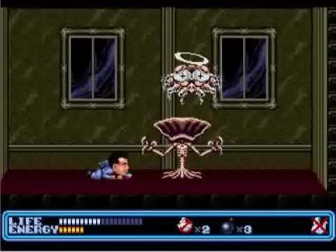 Tpgr Ghostbusters Sega Genesis Mega Drive Youtube