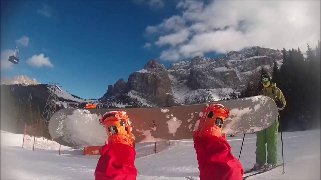 Snowboarding italy 2016 (livigno, alleghe, arabba)