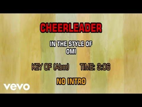 OMI - Cheerleader (Karaoke)