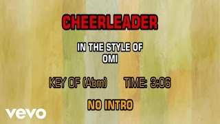 OMI - Cheerleader (Karaoke)