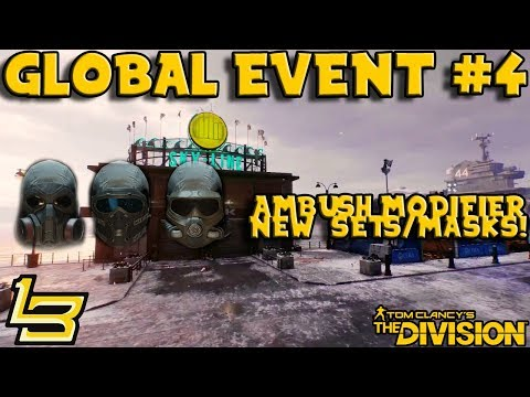Global Event #4 AMBUSH (The Division) Masks & More!