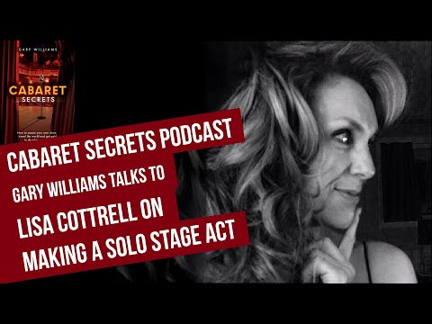 From Production Singer to Solo Act by Artistic Director Lisa Cottrell.