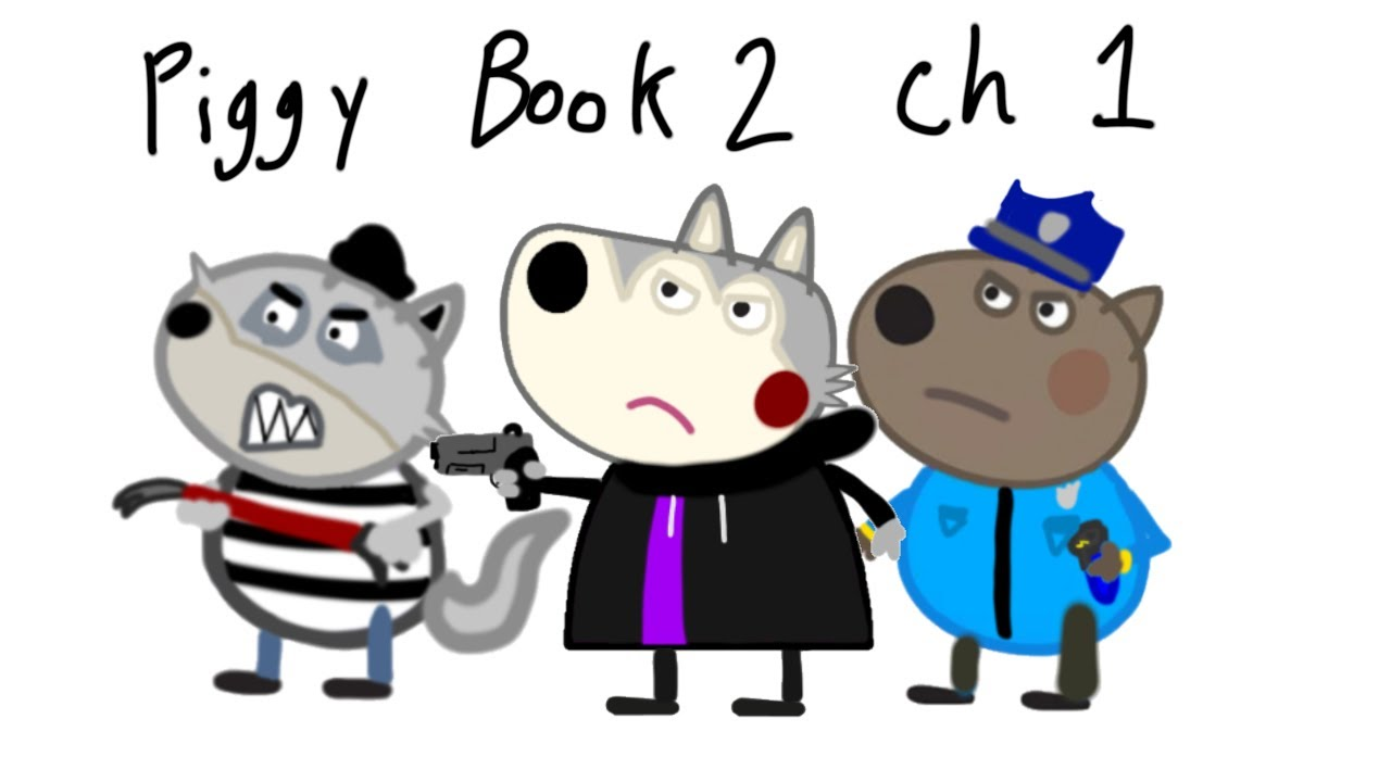 New Piggy Skins | Book 2, Chapter 1 | Willow, Rash & Officer Doggy | Roblox