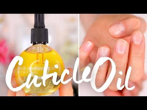 How I'm Healing My Dry Cuticles | Cuccio Cuticle Oil Review